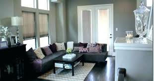 living room colors with brown couch. Grey Walls Brown Couch With Furniture Living Room Glamorous What Wall Colors