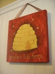Bee Art Prints Honey Bee And Bumble Bee Pair Of Bee PrintsBee Home Decor