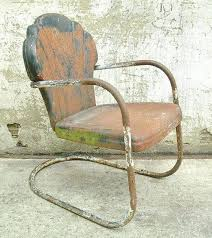 vintage style metal outdoor chairs 9 best lawn images on garden antique