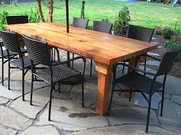 patio table plans stylish wooden outdoor table round and chairs for wood patio tables ideas 8 patio table plans farmhouse outdoor