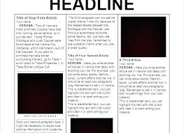 Drive Newspaper Template Newspaper Template Drive Appily Co