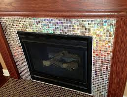 electric fireplace tile surround