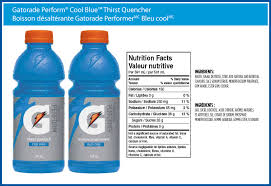 gatorade perform cool blue thirst quencher