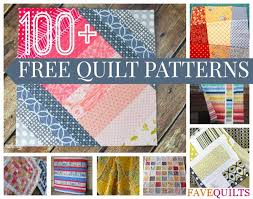 100+ Free Quilt Patterns For Your Home | FaveQuilts.com & 100+ Free Quilt Patterns For Your Home: Nine Patch Patterns, Rag Quilt  Patterns, Log Cabin Quilt Patterns, Quilt-As-You-Go Patterns, and More Adamdwight.com