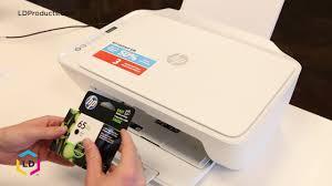 Hp Deskjet 2600 Light Blinking How To Install The Hp 65 65xl Ink Cartridge Printer