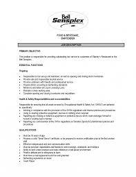 Caregiver Job Description For Resume Resume S Le For A Caregiver
