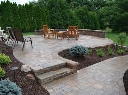 patio ideas with fire pit fire