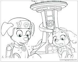 Free Online Coloring Pages Paw Patrol Coloring Pages For Kids Paw