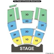 Complete Foxwood Mgm Grand Seating Chart Seating Chart