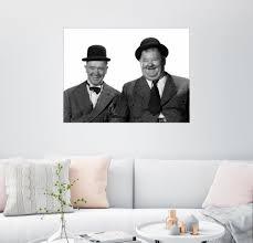 Posterlounge Wandbild Stan Laurel Und Oliver Hardy Verschiedene Formate Materialien Online Kaufen Otto