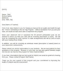 Appreciation Letter For Teacher From Student Filename My College Scout