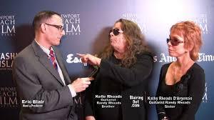 Kelly and Kathy Rhodes talk w Eric Blair about Randy Rhodes @ NBFF 2014 -  YouTube