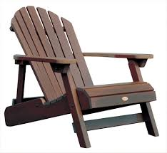highwood synthetic wood outdoor furniture folding reclining outdoor wood chairs paint wood outdoor furniture sets