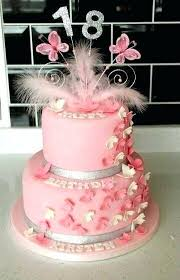 18 Birthday Cake Ideas Girly 18th Birthday Cake Ideas