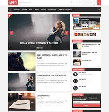 Blog Website Templates Fascinating MEED Responsive Blog Website Templates Cool Templates For Blogger