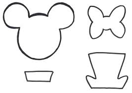 Mickey Mouse Printable Template Printable Mickey Mouse Head Template