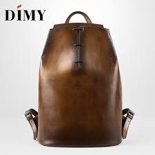 <b>DIMY Genuine Leather</b> Backpack For Men Gentleman Must Calfskin ...