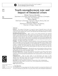 research paper on unemployment in letter in research unemployment research paper educated unemployment unemployment