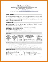 Extra Curricular Activities In Resume Sample 6 Extracurricular