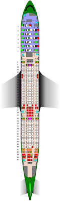 Aer Lingus Airbus A330 300 Seat Map