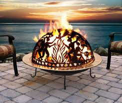 iron fire pit wood burning cast iron firepit nice fireplaces firepits outdoor