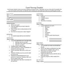 Party Planner Checklist Template Event Checklist Template Excel Calendar Party Planning List Planner