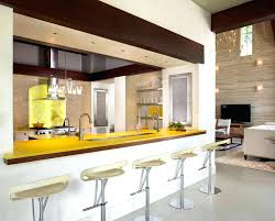 breakfast nook bar ideas kitchen with small island also yellow bar
