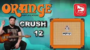 <b>ORANGE</b> CRUSH 12 - <b>гитарный комбо усилитель</b>, неплохой ...