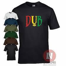 DUB t-shirt <b>reggae</b> club step music rasta cool retro festival fun Teeshirt