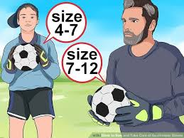 Youth Soccer Goalie Gloves Size Chart How To Size And Take Care Of Goalkeeper Gloves 13 Steps