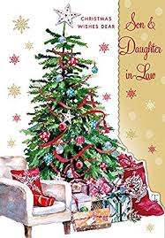 Office Christmas Wishes Son And Daughter In Law Christmas Card Christmas Wishes Dear Son
