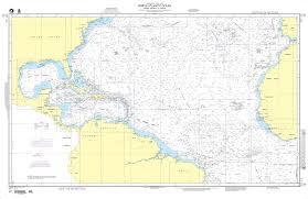 Nga Nautical Chart 12 North Atlantic Ocean North America To Africa