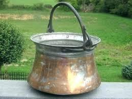 fireplace bucket fireplace bucket kettle pot brass copper hand by log buckets fireplace bucket fireplace bucket