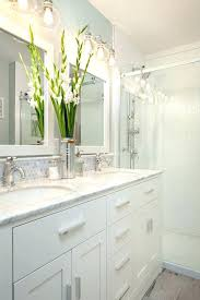 white bathroom cabinets with dark countertops. Bathroom With White Cabinets Dark Countertops Gloss .