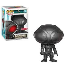 <b>Funko POP</b>! Heroes: Aquaman - <b>Black Manta</b> (Metallic Exclusive ...