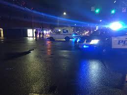 Usps Light Blue Usps Truck Hits Kills Pedestrian In Everett Police