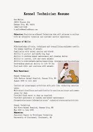 Dog Groomer Resume Best Photos Of Kennel Manager Resume Sample Resume Kennel 17