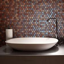 bathroom tiles mosaic. Wonderful Bathroom Pizzazz Hexagon Mosaic Tiles Inside Bathroom I