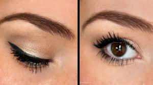 eye makeup application how to apply eyeshadow for beginners back to basics you how to do a natural