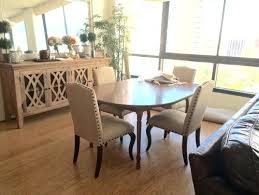 no dining room table rug or no what looks better to you dining room table dimensions