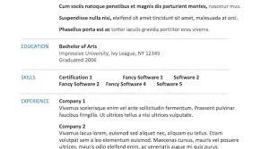 English Resume Template Free Download English Resume Template Free Download For Study Basic Picture 95