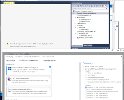 Visual Studio Design Tools Installation Why Doesnt Design View Work On Uwa Dev In