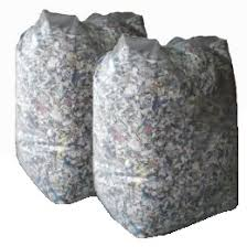 Where to take shredded paper
