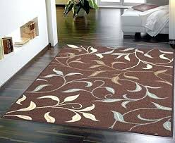 blue and brown area rugs tan