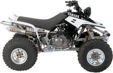 yamaha 350 warrior. new pro circuit 4qy86350 t-4 slip-on w/spark arrestor (fits: yamaha warrior 350) 350