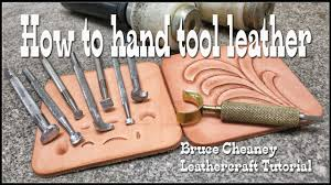 leather working tool kits. leather tooling basics tutorial for beginners with craftools and other select leathercraft tools - youtube working tool kits n