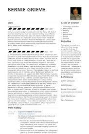 Superintendent Of Schools Resume Samples Visualcv Resume Samples