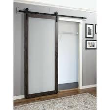 barn door closet home designs continental engineered wood 1 panel interior reviews mirror