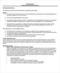 Real Estate Business Proposal Templates 11 Free Word Pdf