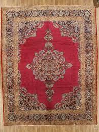 11 x 14 semi antique persian area rug